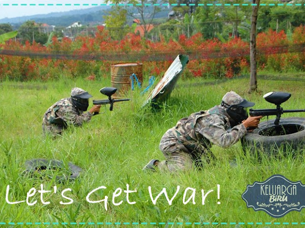 Paintball Sahabat Air Kota Batu: Let's Get War!