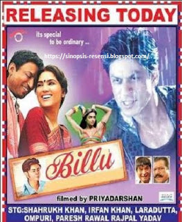 Sinopsis Film Shahrukh Khan terbaru Billu Barber, Film India, Shahrukh Khan