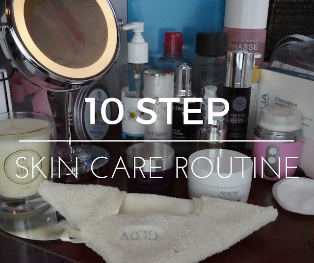 Ten step Skin Care Routine (korean Style)