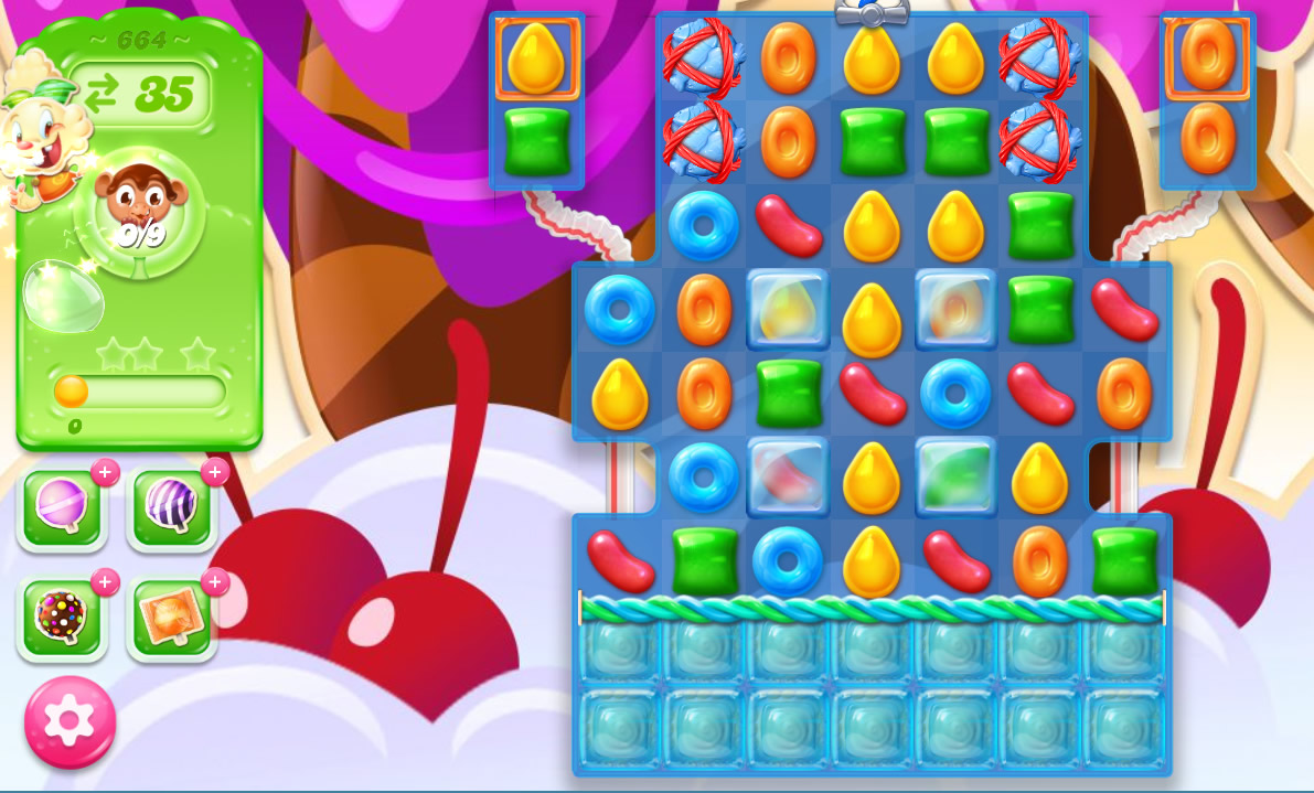 Candy Crush Jelly Saga level 664
