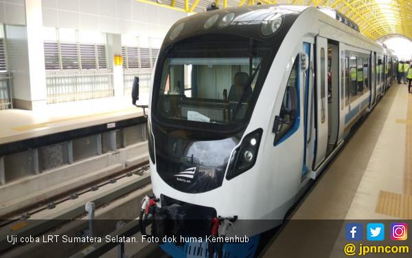 Asian Games Tinggal Menghitung Hari, LRT Sumsel Ngadat Lagi