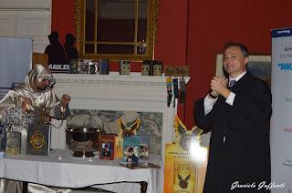 20 años de Harry Potter. Embajada Británica. Uruguay. Embajador del Reino Unido en Uruguay Mr. Ian Duddyy