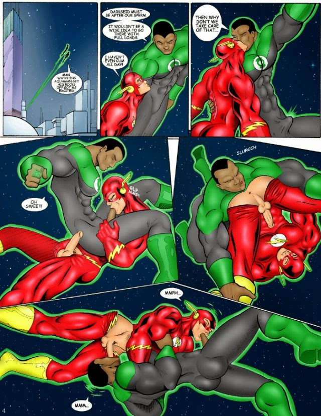 Gay Justice League Porn 100