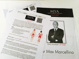 MYA, MYA Cosmetic Surgery, Cosmetic Surgery, Max Marcellino, Vaser Surgery on Thighs, Blogger reviews on Cosmetic Surgery