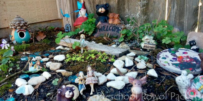 How to Make a Fairy Garden With Preschoolers   Preschool Powol Packets