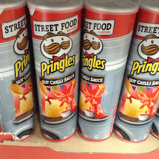 Pringles Street Food Hot Chilli Sauce