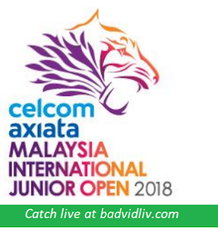 Malaysia International Junior Open 2018 live streaming