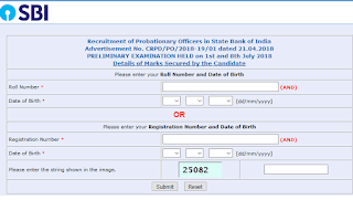 SBI PO Score card for Prelims Exam 2018, released - Check Now!
