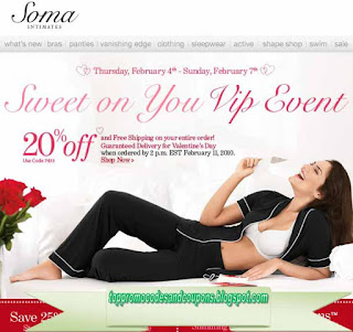 Free Printable Soma Intimates Coupons