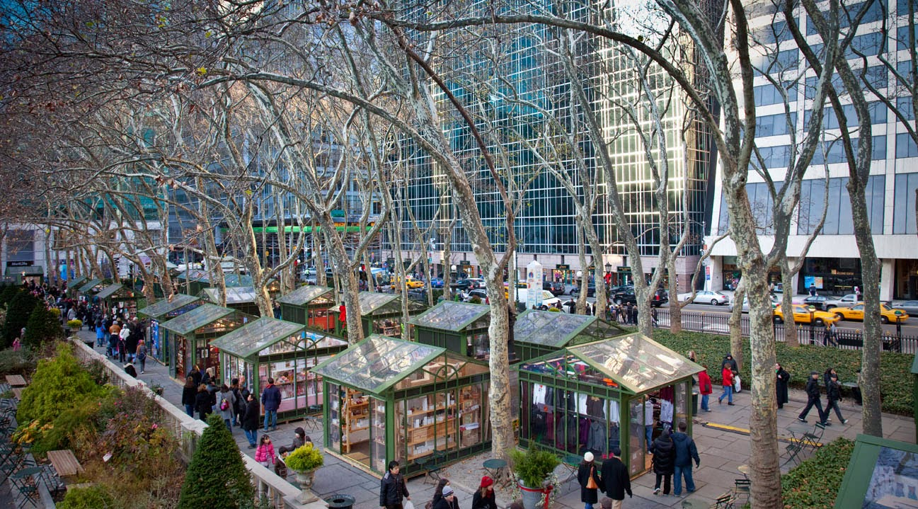 Christmas Market New York City.Christmas Markets In The Us First Stop Bryant Park New