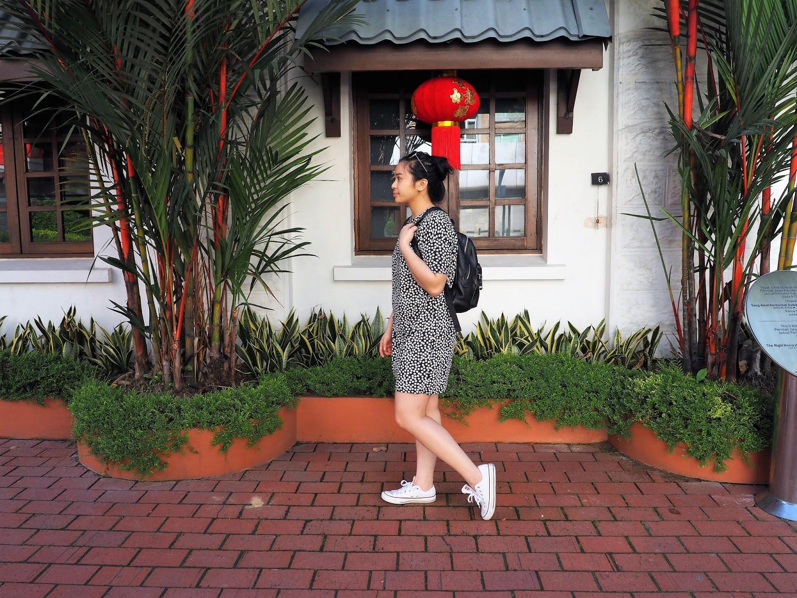 Malaysia Kota Kinabalu OOTD Tourism Gaya Street Converse