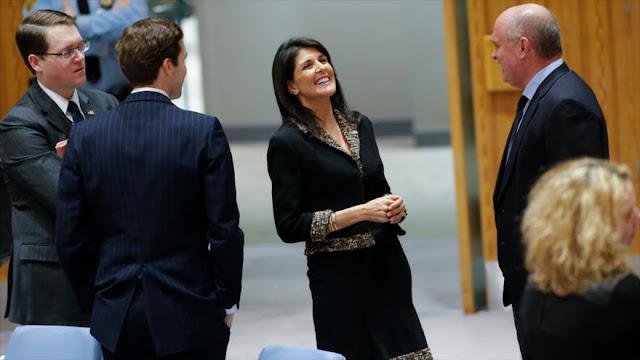 Siria: EEUU violó leyes internacionales con veto a favor de Israel