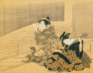 https://commons.wikimedia.org/wiki/File:%27Courtesan_Playing_the_Samisen%27_by_Isoda_Koryusai,_c._1785.jpg