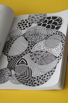 Mrs. Smiley's Art Room: We're Zany for Zentangles!Easy Cool Designs To Draw On Paper