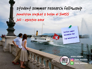 Beasiswa Riset Singkat di Swiss: Student Summer Research Fellowship