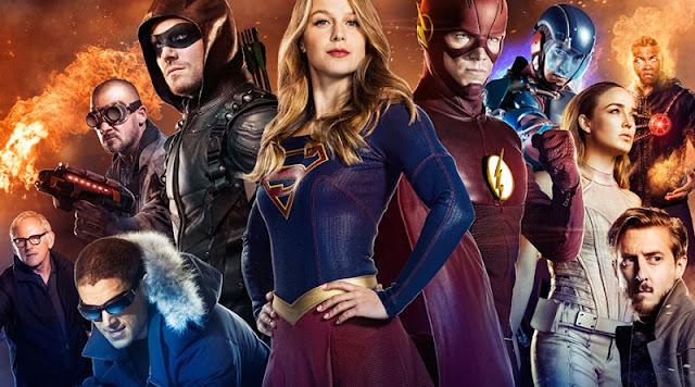 DC CW Arrow Supergirl Flash