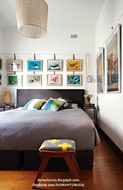 Decorar con cuadros - Cuadros de dormitorio ...