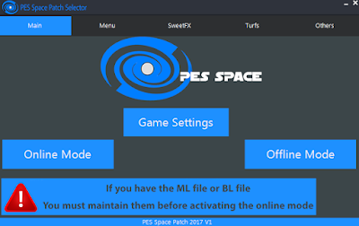 PES 2017 PES Space Patch v1