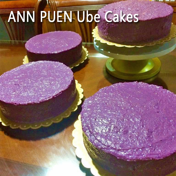 Ann Puen ube cakes - Bacolod cakes