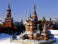 Moscow in winter Puzzle