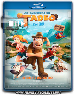 As Aventuras de Tadeo Torrent - BluRay Rip 1080p Dublado