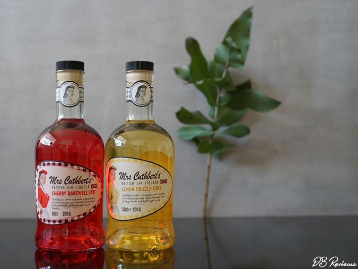 Mrs Cuthbert's British Gin Liqueurs