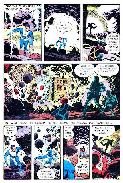 Thunder Agents v1 #10 tower silver age 1960s comic book page art by Wally Wood