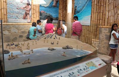 Centro de Interpretacion Aspero, Aspero ciudad pesquera Caral