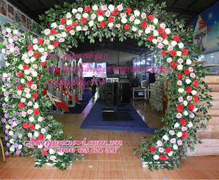 cổng hoa cưới đẹp nhất 1
