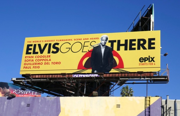 Elvis Goes There series premiere billboard
