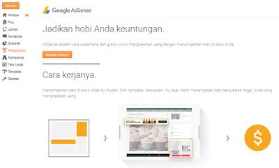 daftar google adsense dengan blog