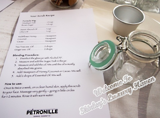 petronille diy scrub bellabox