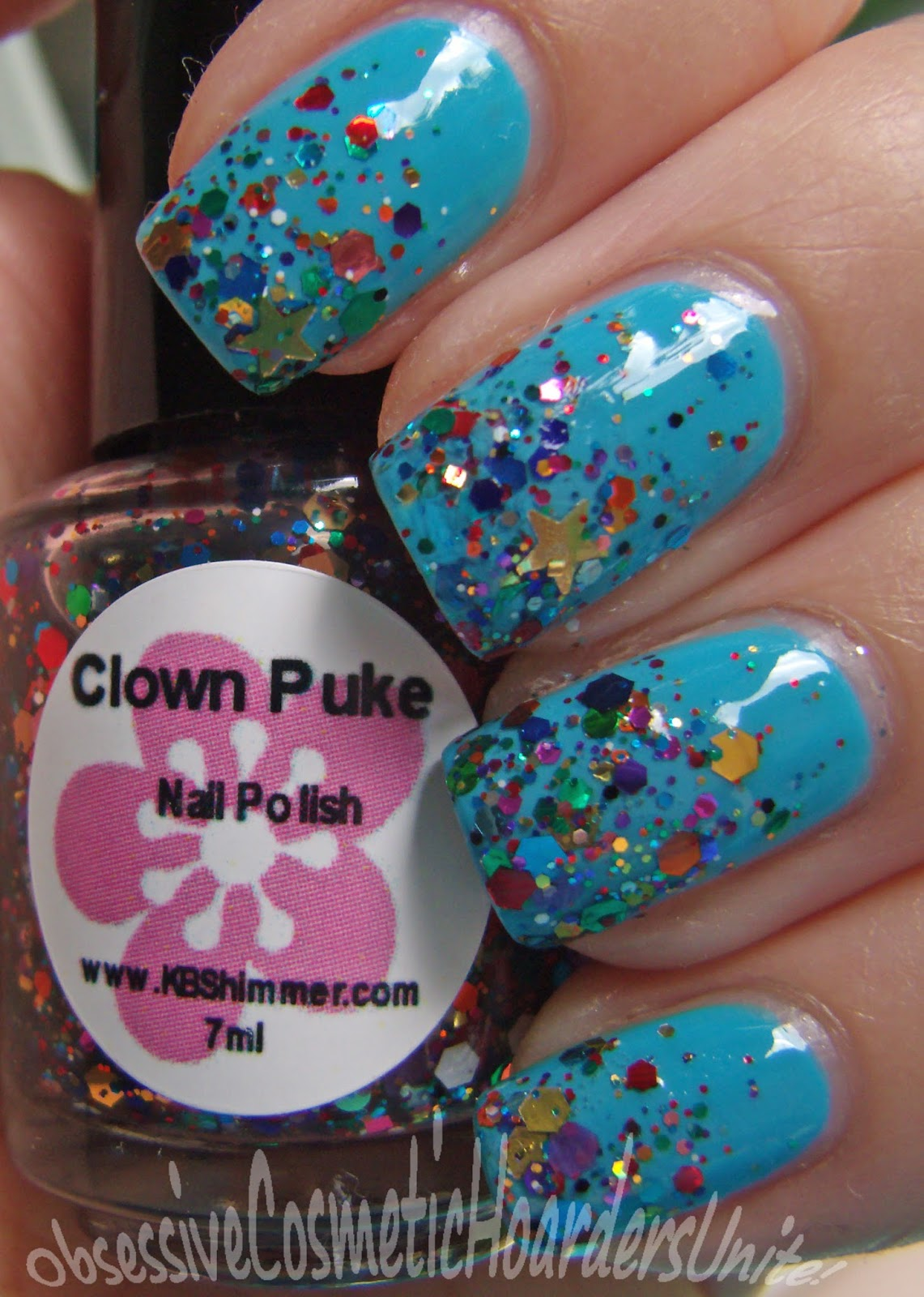 Obsessive Cosmetic Hoarders Unite Twinsie Tuesday Circus Featuring Kb Shimmer Clown Puke