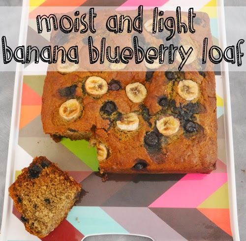 Wednesday, April 29 RECIPE: Large moist and light blueberry banana ...