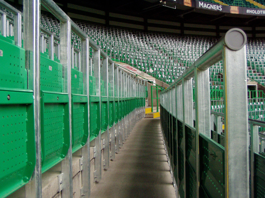 celtic park rail seats