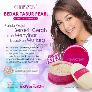 CHRISZEN PEARL LOOSE POWDER