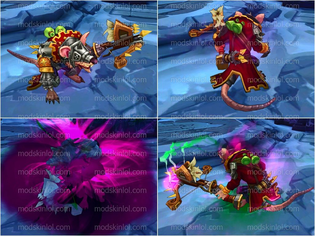 Mod Skin LOL Download Free: Mod Skin Twitch Trung Co