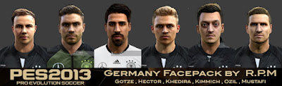 Pes 2013 Germany Facepack By R.P.M