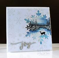 Scenic cut out card - video - Ingrid Blackburn