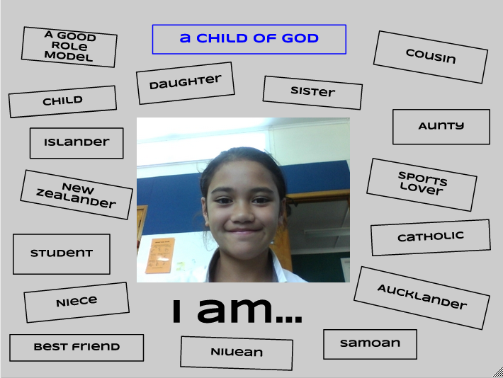 Alecia @ Saint Pius X Catholic School: My Identity