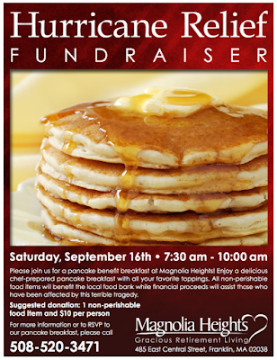 Pancakes for a good cause at Magnolia Heights