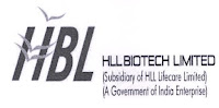 HLL Biotech Limited, Tamil Nadu, ITI, Graduation, Junior Officer, Junior Technician, freejobalert, Sarkari Naukri, Latest Jobs, hbl logo