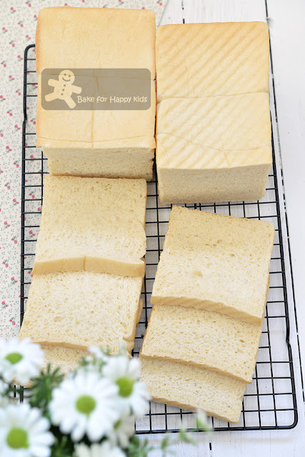 Japanese milk square bread shokupan less sugar less salt