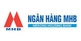 Logo ngân hàng MHB vector