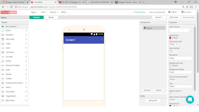 how to make own android app wit out coding by mobile