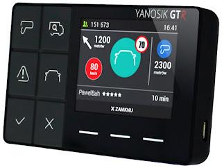 Yanosik GTR Asystent Kierowcy