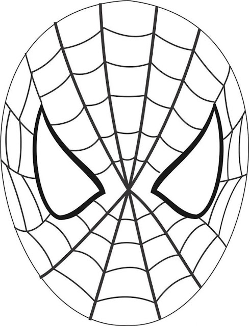 Download Free Printable spiderman pumpkin stencil Designs