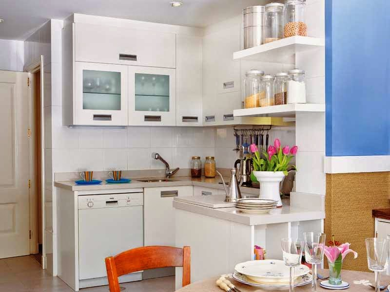 Mini cocinas llenas de grandes ideas | Decoración