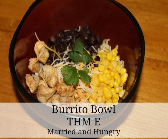 burrito bowl THM E