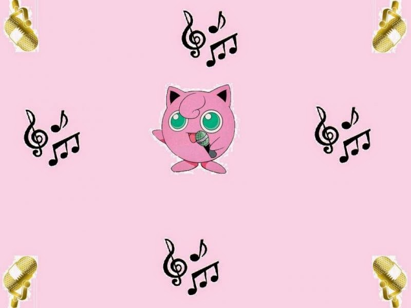 anime song lyrics, anime, pokemon, jigglypuff